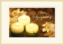 Light A Candle Sympathy Cards
